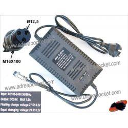 Chargeur 24 Volts 1,6 A Trottinette / Quad Electrique Chinois